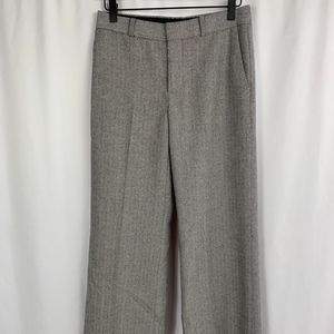 Banana Republic Herringbone Grey Trouser Size 0